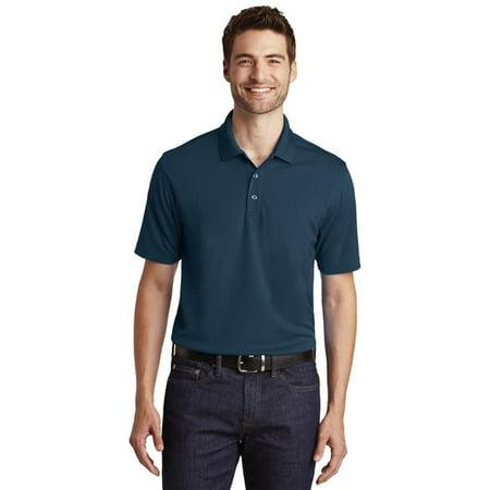 Port Authority 1237233 Dry Zone UV Micro-Mesh Polo Shirt, River Blue Navy - Medium
