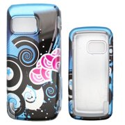 Soul Wireless NK5230SC022 Nokia 5230 Nuron Blue Ocean Snap On Protective Case Cover