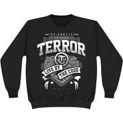 Terror Men's  Banner Sweatshirt Black