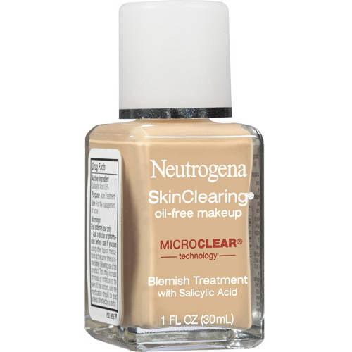 Neutrogena Skinclearing Liquid Makeup, Classic Ivory 10, 1 oz
