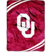 University of Oklahoma Sooners NCAA Raschel Plush 60x80 Twin Size Throw Blanket