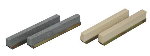 Lisle 16460 80 Grit Stone Set For 16000 (2.35 To 2.75) by Lisle