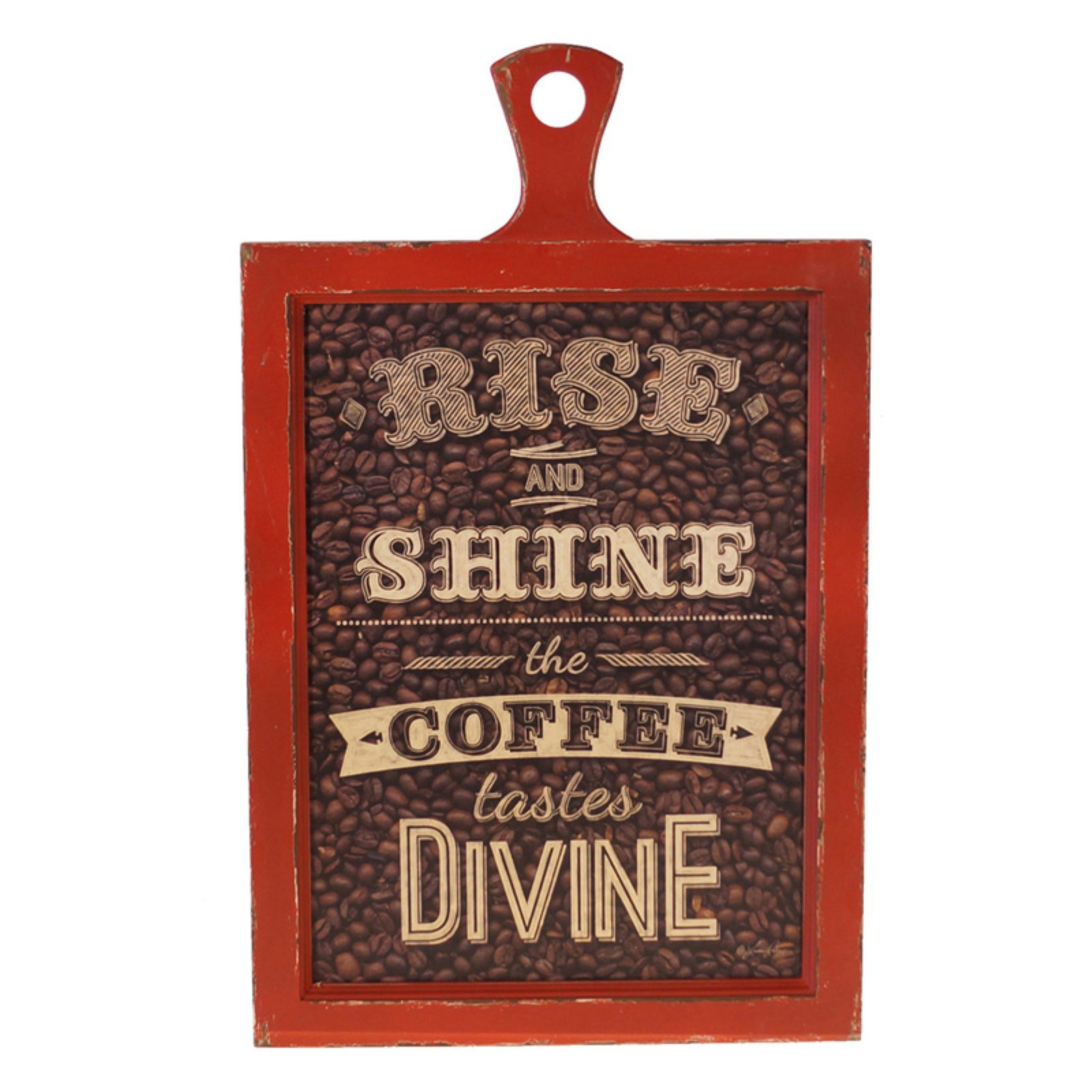 VIP International Rise and Shine Hanging Sign
