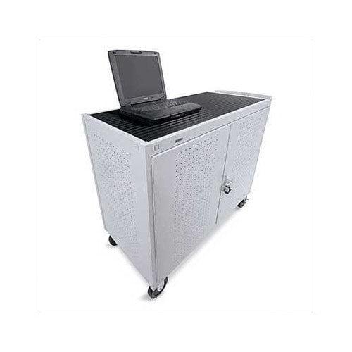 Bretford Laptop Storage Cart LAP30EULBA-GM - Notebook cart - gray