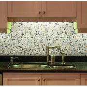 Autumn Mosaic 12 in. x 12 in. Natural Pebble Stone Floor and Wall Tile (10 sq. ft. / case)