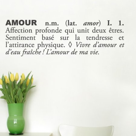 Image of ADZif Blabla Amour Wall Decal