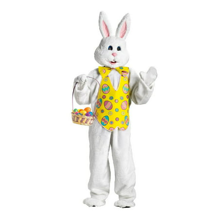 Adult Bunny Costume - Deluxe With - Adult Bunny Costumes