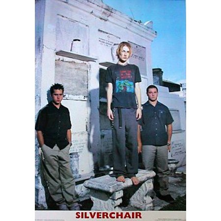Silverchair Poster Graveyard Group Shot New -