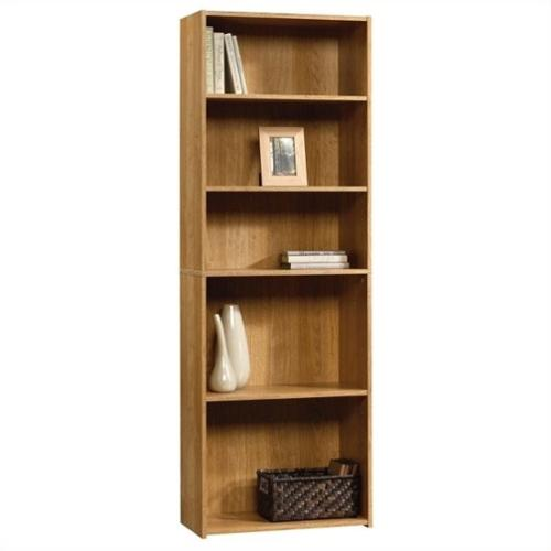 Sauder Beginnings 5 Shelf Bookcase - Highland Oak
