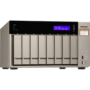 QNAP TVS-673 6-Bay Diskless NAS Server with AMD RX-421BD - TVS-873e-4G-US