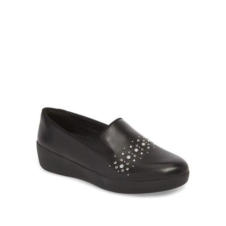 Audrey Leather - Fit Flop Audrey Pearl Women's Loafers M60-001