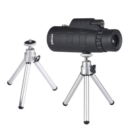 50X60 Zoom Monocular Optical HD Lens Telescope With Tripod & Mobile Phone Clip - image 7 of 10