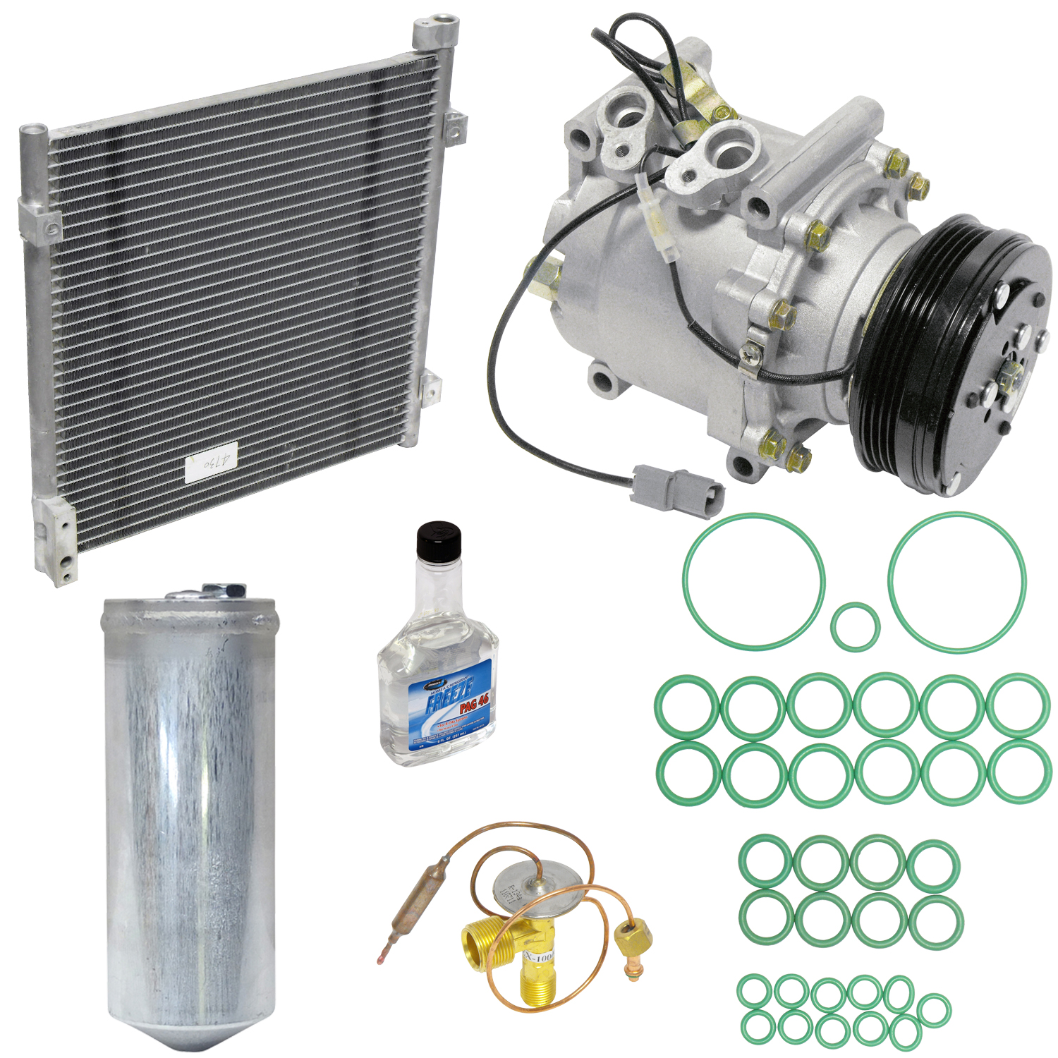 A/C Compressor and Component Kit -- Compressor-Condenser Replacement Kit
