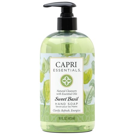 Capri Essentials Hand Soap - Sweet Basil