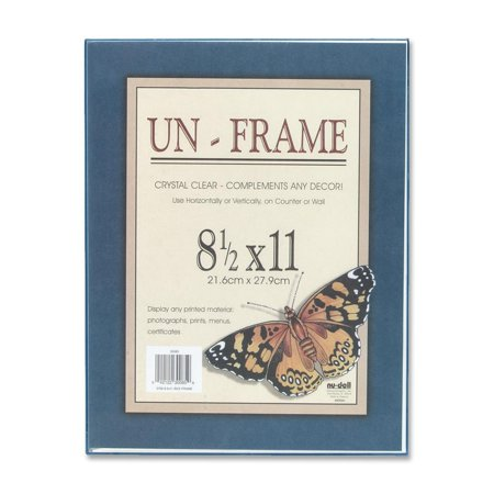 Nu-Dell, NUD30085, Contemporary Wall Frame, 1 Each, Clear Frame