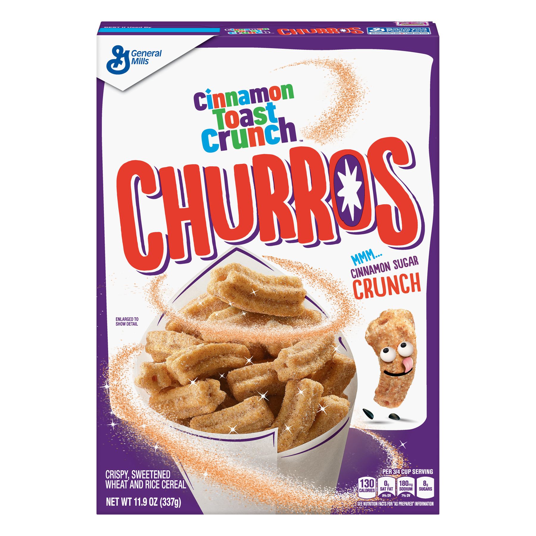 Churros Cinnamon Toast Crunch Cereal, 11.9 OZ