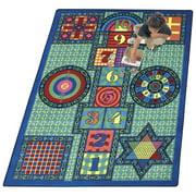 Joy Carpets Games Kids Area Rug