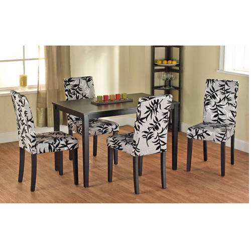 Leaf Print Parson Chair, Set of 2