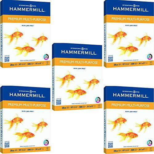 Hammermill Premium Copy & Multipurpose Paper - 5 REAMS