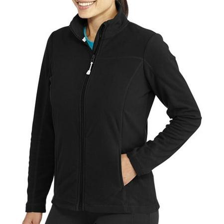 Danskin Now Women's Microfleece Full Zip Jacket - Walmart.com