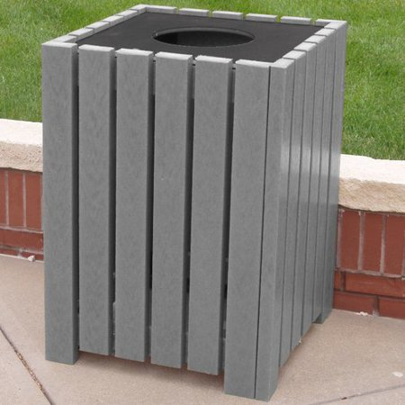 Frog Furnishings Recycled Heavy Duty Square Receptacle