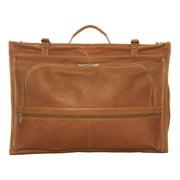 Piel Leather Tri-Fold Garment Bag