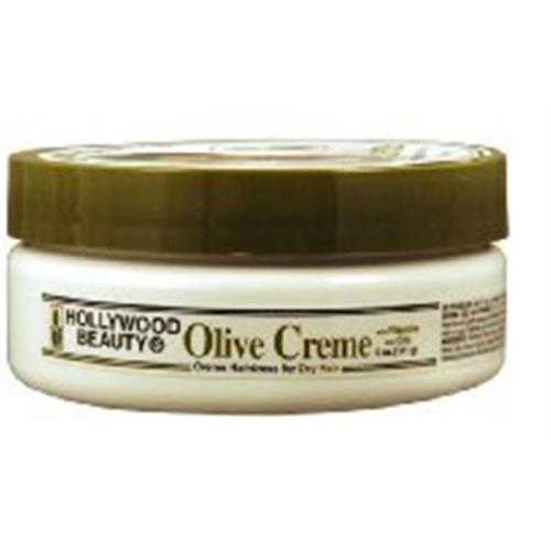 Hollywood Beauty Olive Creme Hair & Scalp, 5 oz (Pack of 4)