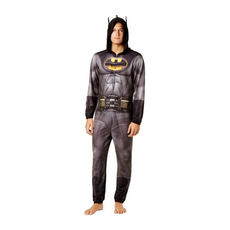 Briefly Stated Mens Batman Arkham Complete Costume](Mens Batman Onsie)