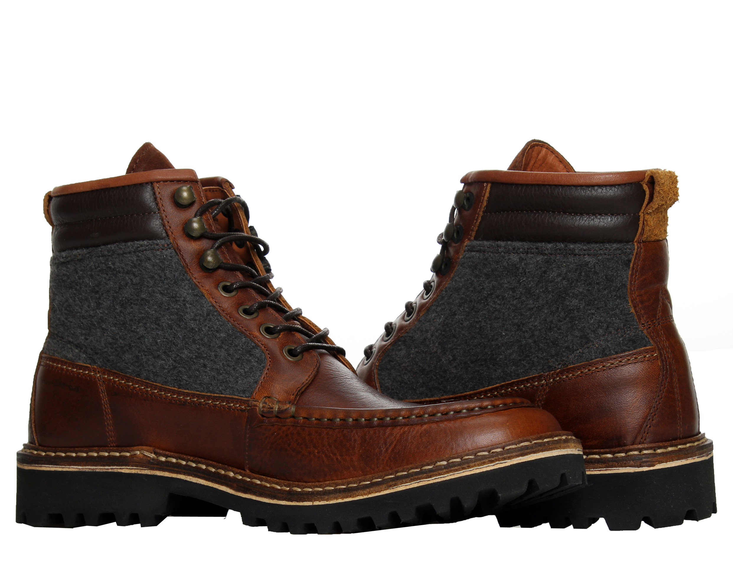 1883 by Wolverine Ricardo Moc-Toe Brown Men's Boots W00773 by