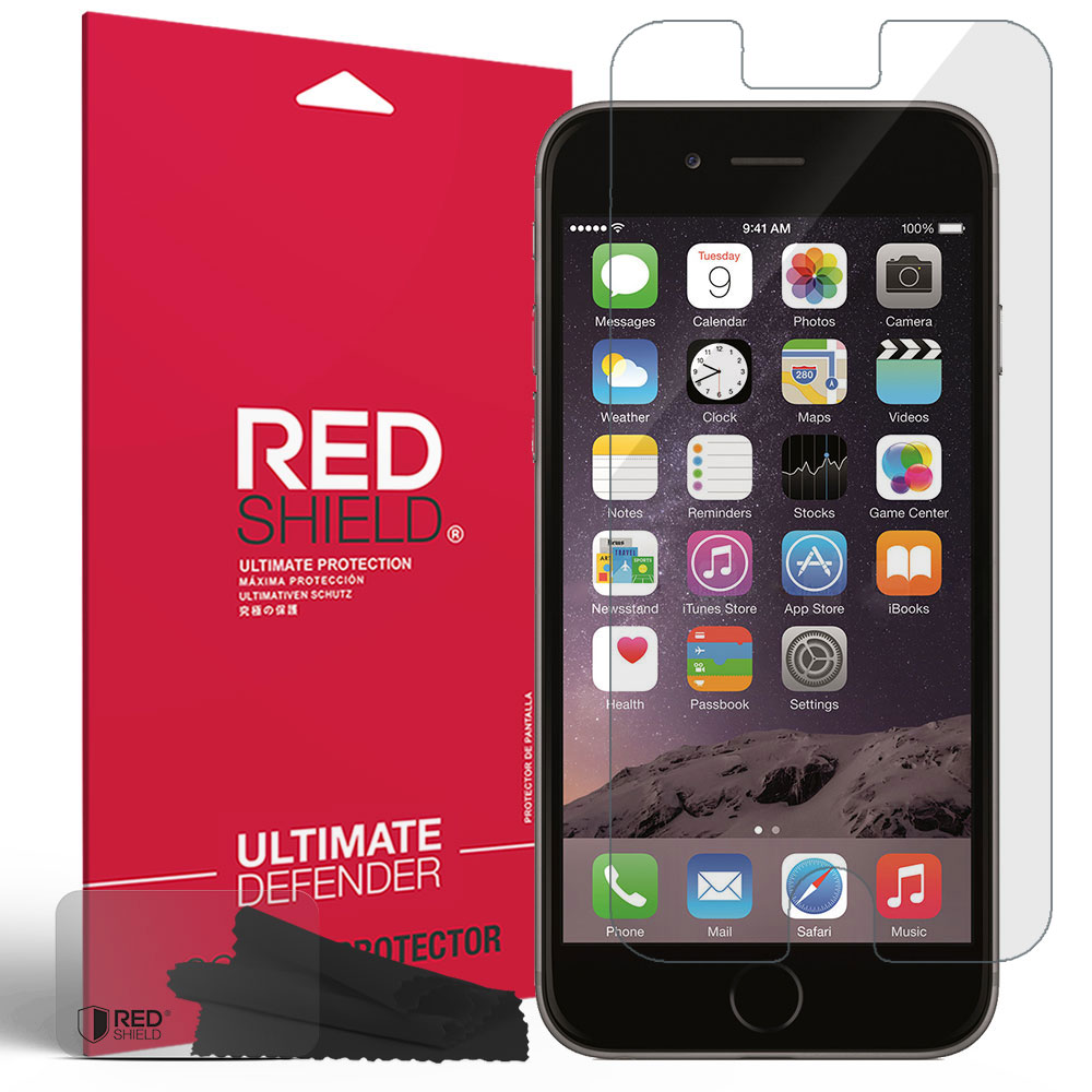 Apple iPhone 6 Plus Screen Protector, [Crystal Clear] Anti-Scratch, Anti-Shock, Anti-Shatter Precision-Cut HD Protective