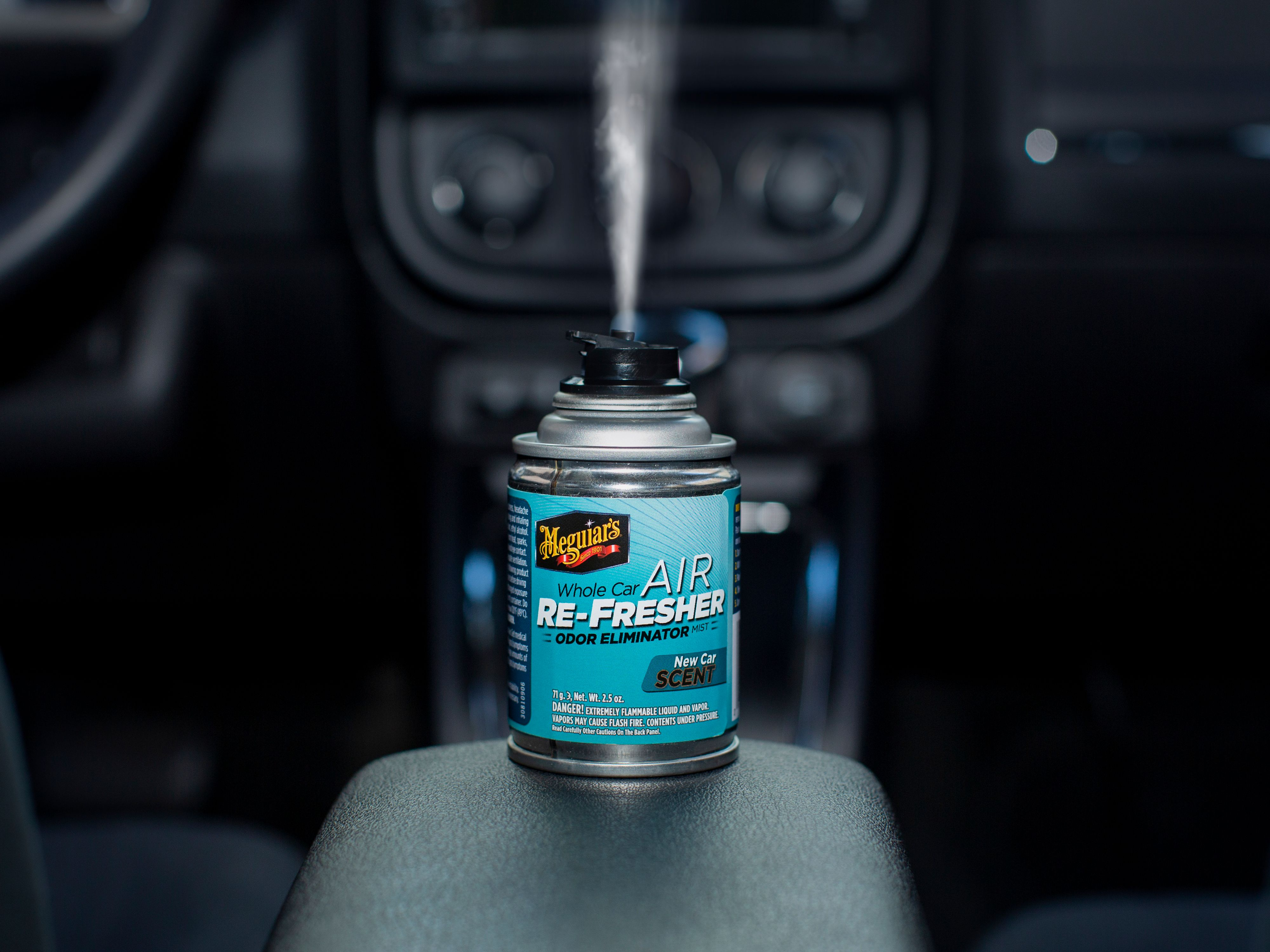 Car Odor Eliminator >> Meguiar S Whole Car Air Re Fresher Odor Eliminator Mist