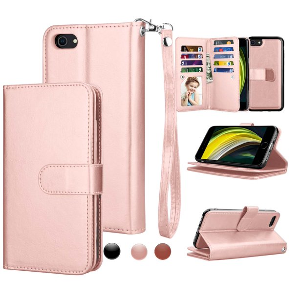 """Njjex Wallet Cases for 4.7"""" iPhone SE 2020 / iPhone 8 ..."""