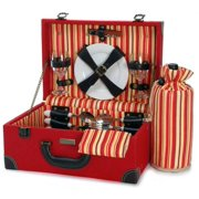 Picnic and Beyond - Wooden Picnic Box for Two