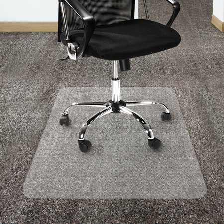 Office Marshal Polycarbonate Chair Mat For High Pile