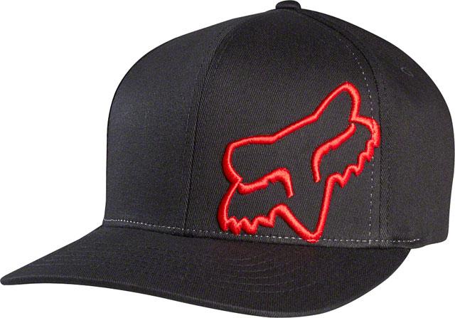09c7688dc1d ... switzerland fox racing flex 45 flexfit hat black red sm md ba7f1 78367