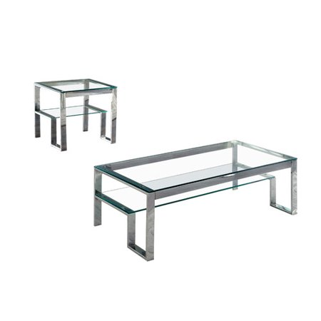 Hokku Designs Rayleigh 2 Piece Coffee Table Set