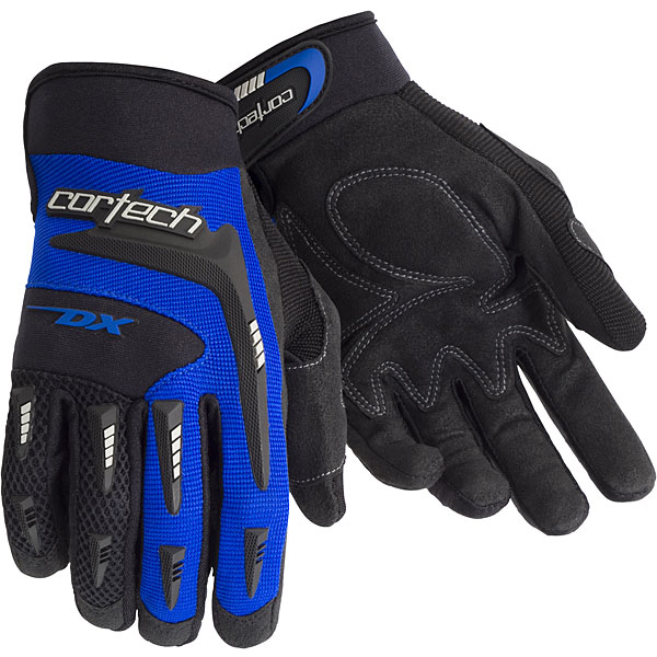 Cortech DX 2 Youth Textile Gloves Blue