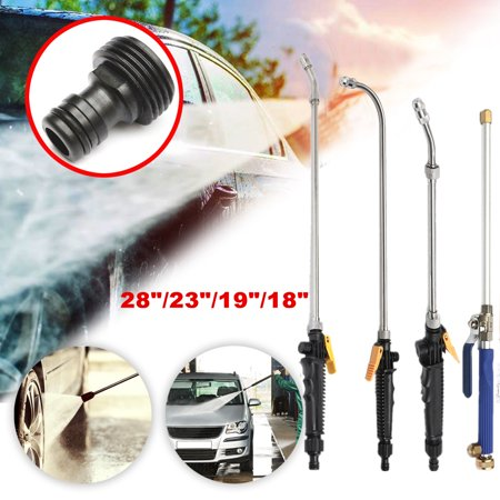 High Pressure Power Washer Spray Nozzle Water Gun Spay Hose Wand Attachment Garden Car Washing Cleaning
