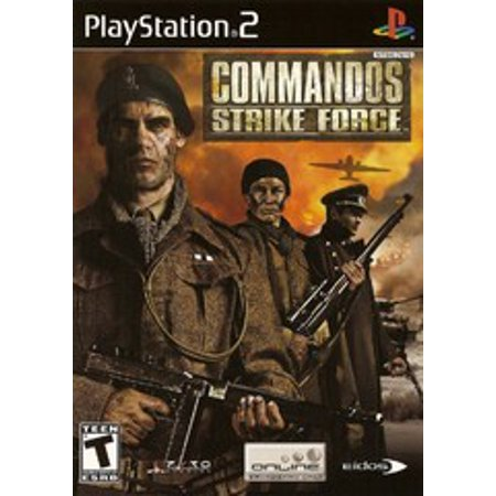 Driving Force Ps2 - Commandos Strike Force - PS2 Playstation 2 (Refurbished)