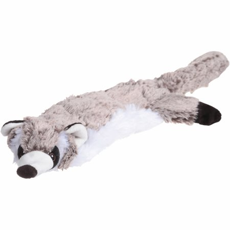 Logical Pet Rugged Stuffless Wild Animals Plush Raccoon Dog Toy