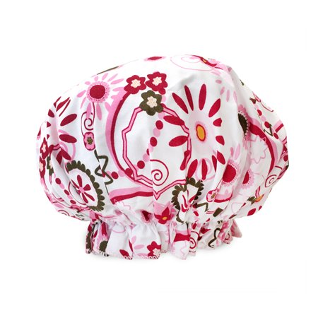 Bouffant Mini (Spa Sister Bouffant Shower Cap, Belleza Print)