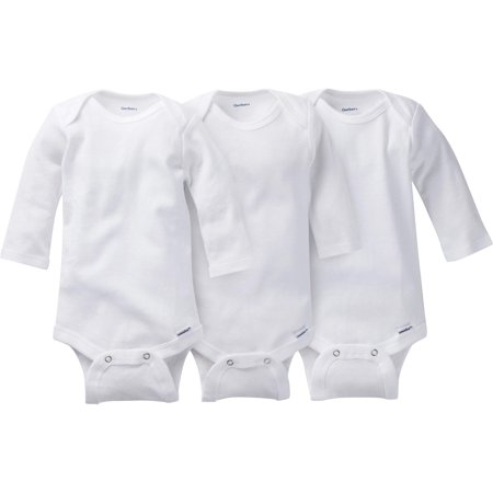 e33f5c103 Gerber - Newborn Baby Onesies Brand Organic Long Sleeve Bodysuits