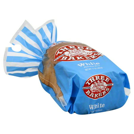 Three Bakers Gluten-Free White Whole Grain Bread, 17 oz