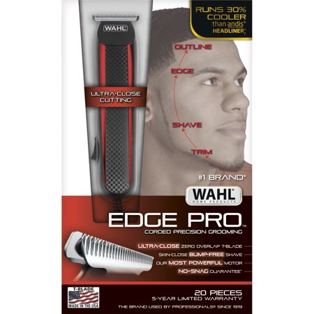 Wahl Edge Pro Trimmer allows you to shave, detail, trim
