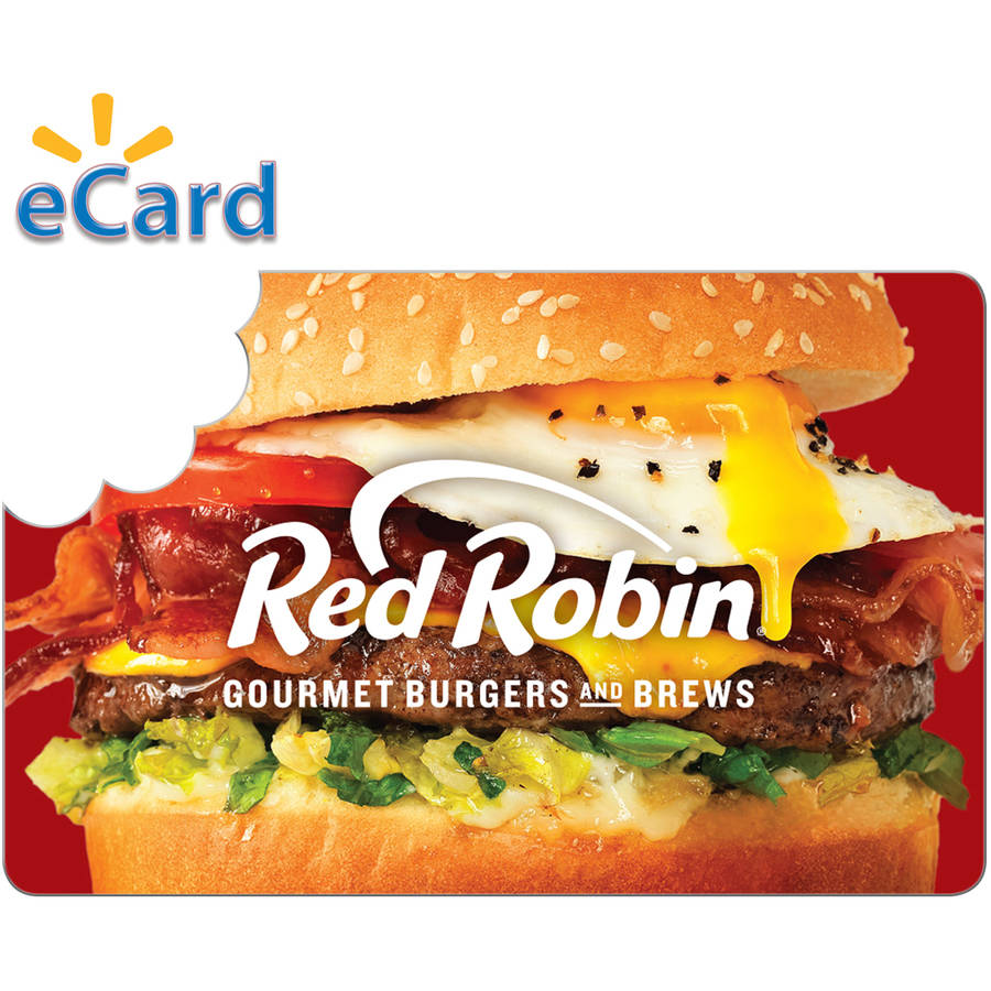 Red Robin $25 Card (Email Delivery)