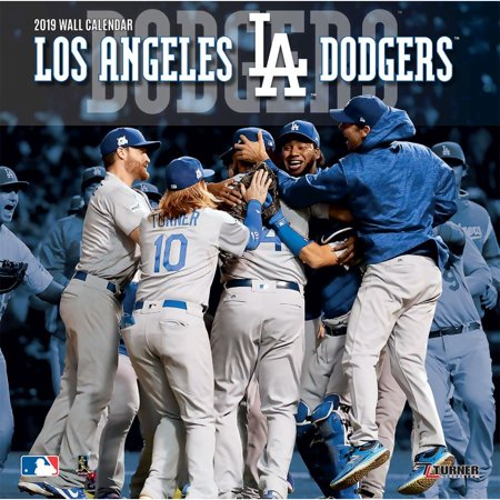Dodgers Calendar.2019 12x12 Team Wall Calendar Los Angeles Dodgers