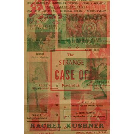 Strange Cover - The Strange Case of Rachel K (Paperback)