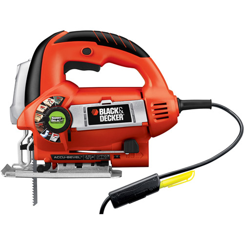 Black & Decker Smart Select LineFinder Orbital Jigsaw, JS670V