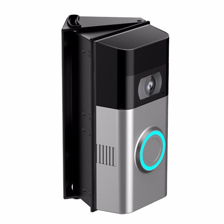 Adjustable (25 to 55 Degree) Angle Mount for Ring Video Doorbell 2 Angle Adjustment Adapter Corner Kit Mounting Plate (Adjustment Bracket)