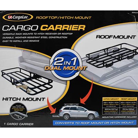 2 In 1 Cargo Carrier